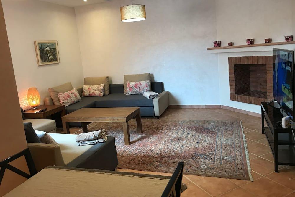 Deluxe Διαμέρισμα, 2 Υπνοδωμάτια, Κουζίνα, Στον κήπο - Περιοχή καθιστικού