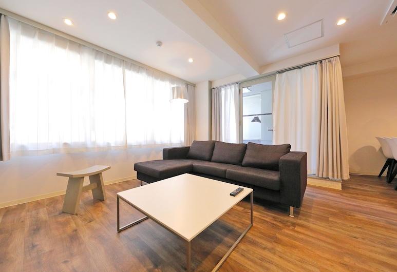 Grandouce Shinsaibashi-Nishi, Osaka, 2 Bedroom Apartment, Living Room