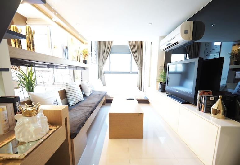 5MIN to ATT 4 FUN, Taipei, Familie loft (4B), Kamer