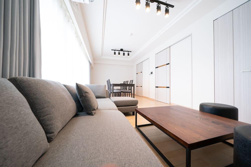 2 ベッドルーム アパートメント 901 - リビング エリア