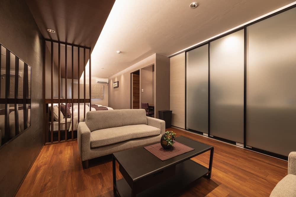Izba typu Superior, nefajčiarska izba (A) - Obývacie priestory