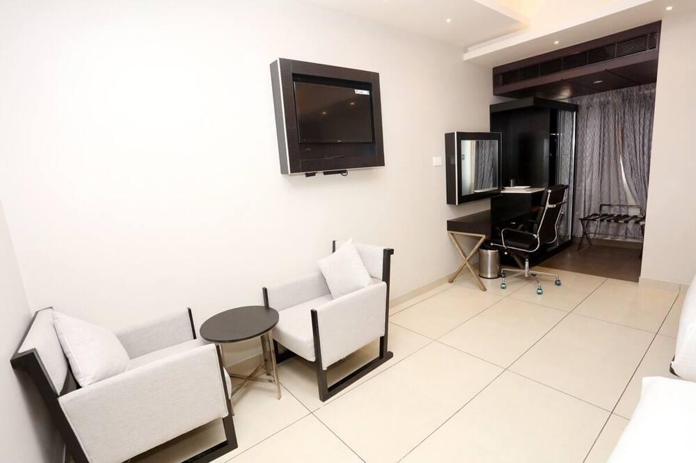 Deluxe-værelse til 3 personer - Stue