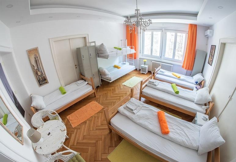 Hostel Beogradanka, Belgrad, Gemeinsamer Schlafsaal, Gemischter Schlafsaal (6 Bed Dormitory Room), Zimmer