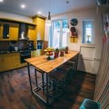 Camera tripla, bagno condiviso - Cucina in comune
