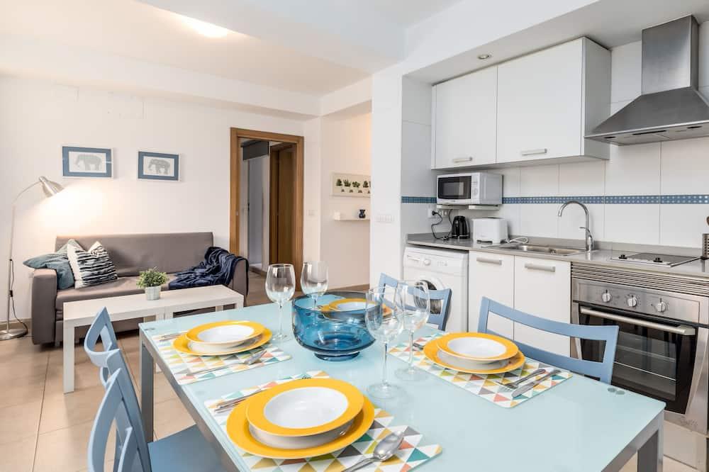 Apartment, 1 Bedroom, Interior Terrace - Living Area