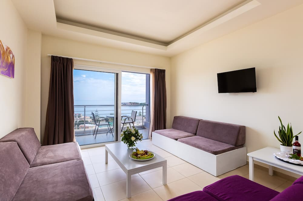 Superior Δωμάτιο, Θέα στη Θάλασσα - Περιοχή καθιστικού