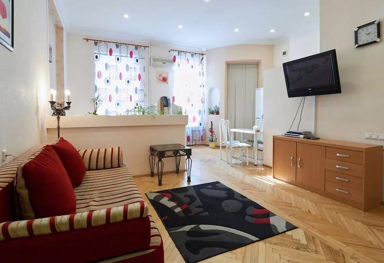 Home-Hotel Kostelnaya 9, Kyiv, Stüdyo, Oturma Alanı