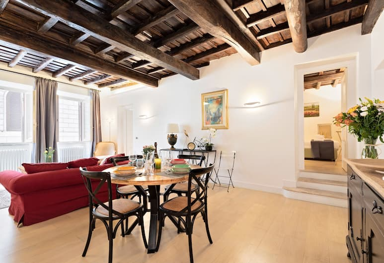 Rome as you feel - Trevi Luxury Apartment, Rome, Apartment, 2 Bedrooms, Living Area
