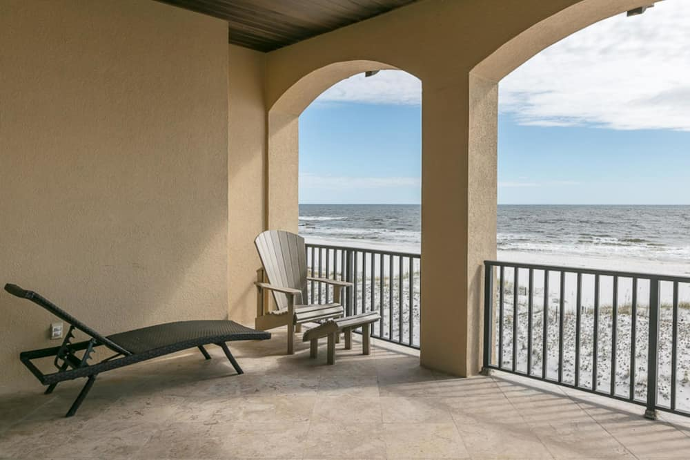 House, Multiple Beds, Beach View - Balcony