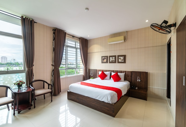OYO 327 Oasis Riverside Hotel Da Nang, Da Nang, Deluxe szoba kétszemélyes ággyal, Vendégszoba