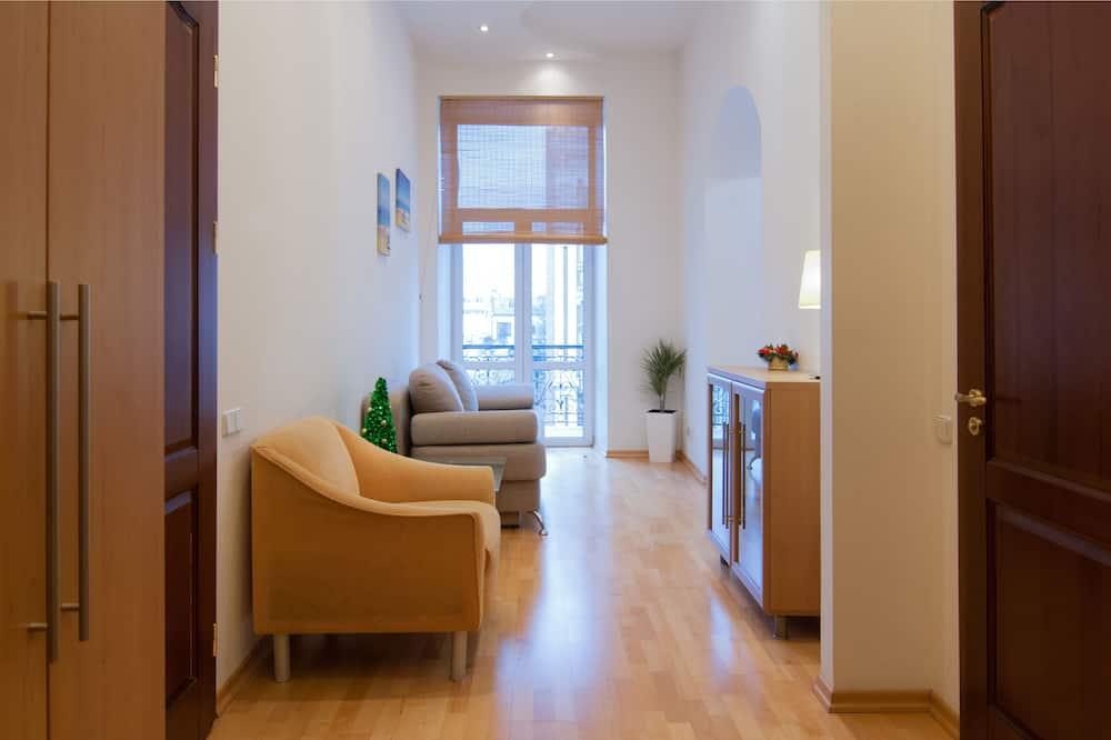 Apartemen, 1 kamar tidur, balkon - Kamar
