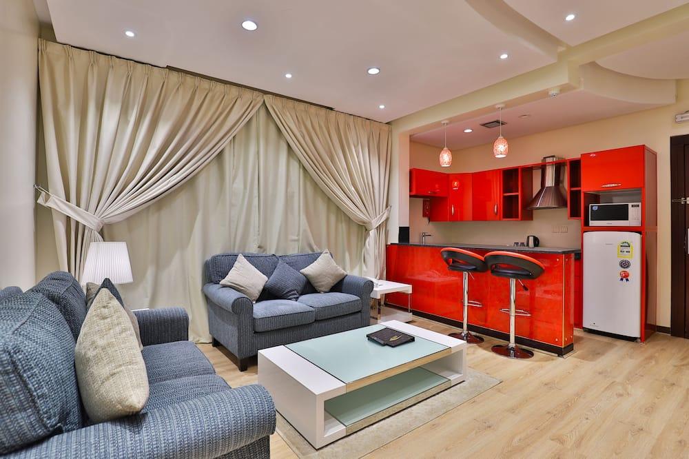 One Bedroom Apartment - Ruang Keluarga
