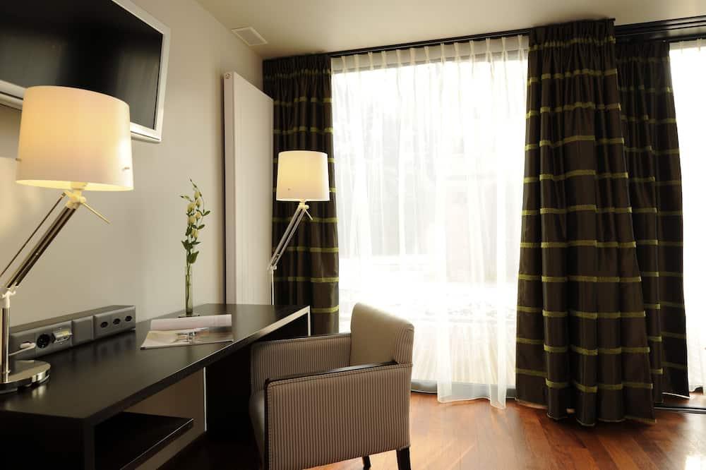 Phòng đôi hoặc 2 giường đơn, Hiên (Du Jardin) - Khu phòng khách