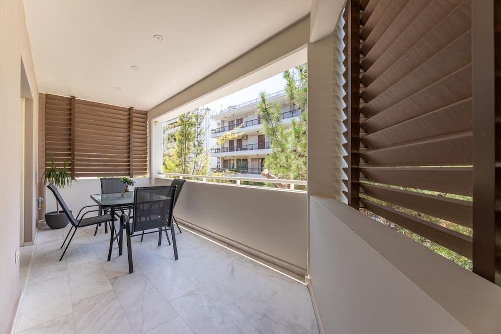Dzīvokļnumurs, divas guļamistabas (Elegant) - Balkons