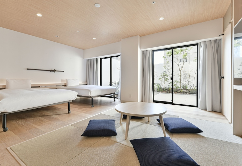 REF Kumamoto by VESSEL HOTELS, Kumamoto, Pokoj Premium se dvěma jednolůžky, nekuřácký, Pokoj