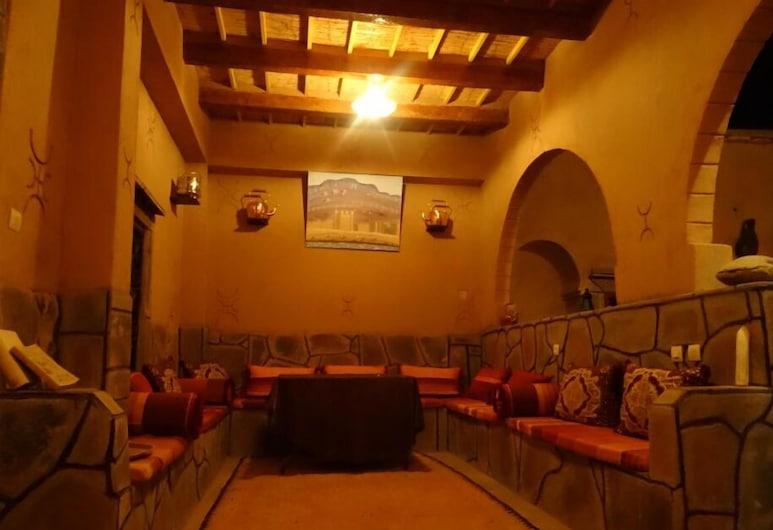 Dar Ait Hmid Zagora, Nekob, Sitzecke in der Lobby
