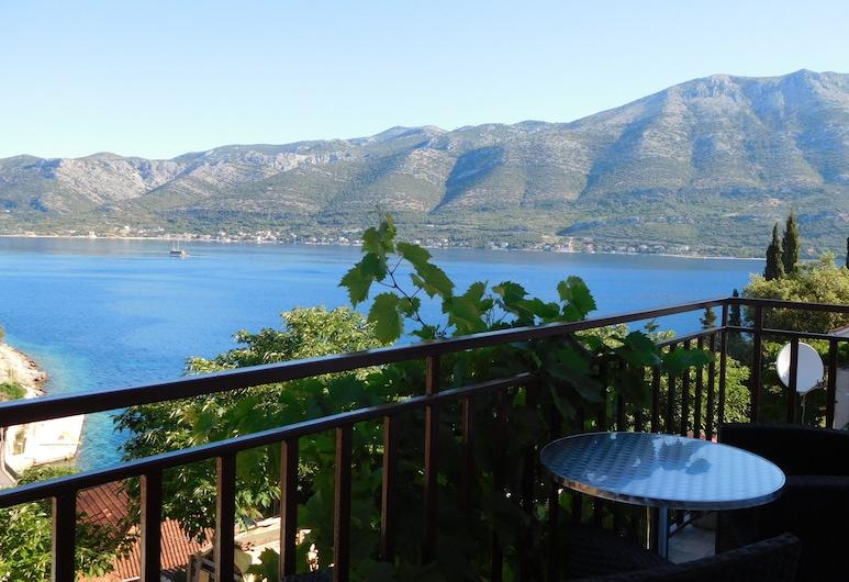 Apartments Ivancevic, Korcula, Apartment, 2 Bedrooms, Balcony, Sea View, Balcony