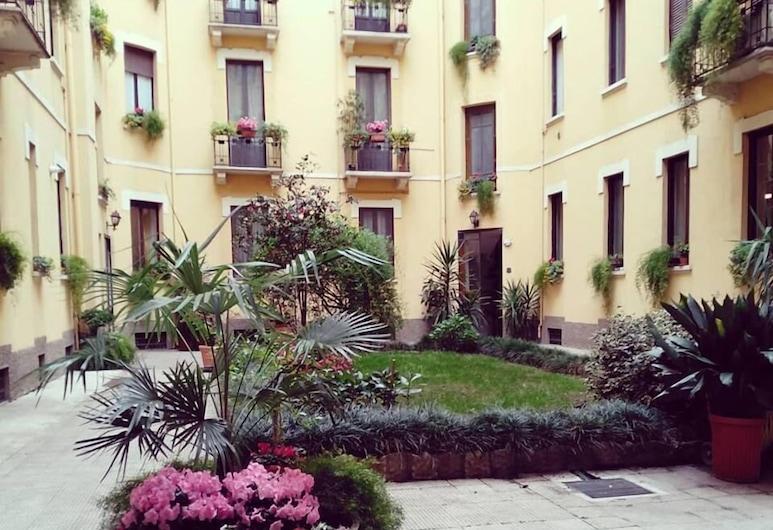 Vitruvio 42 Apartments, Milaan, Binnenplaats