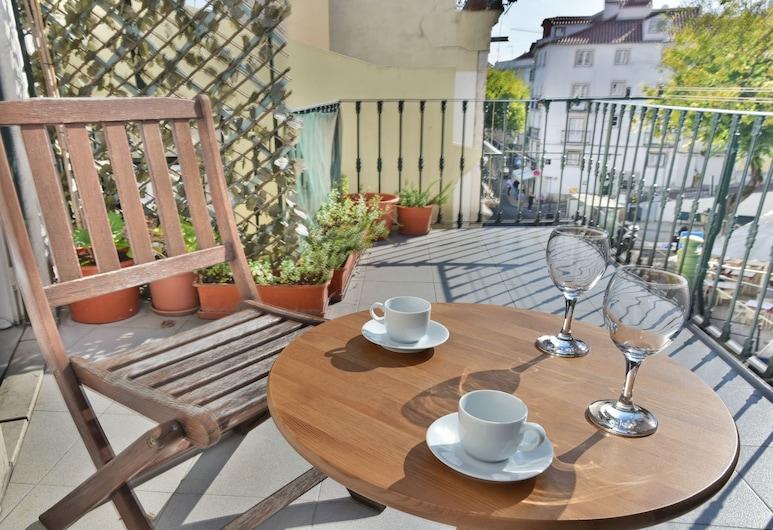 ALTIDO Alfama 365, Lisabon, Apartmán, 2 spálne, balkón, Balkón