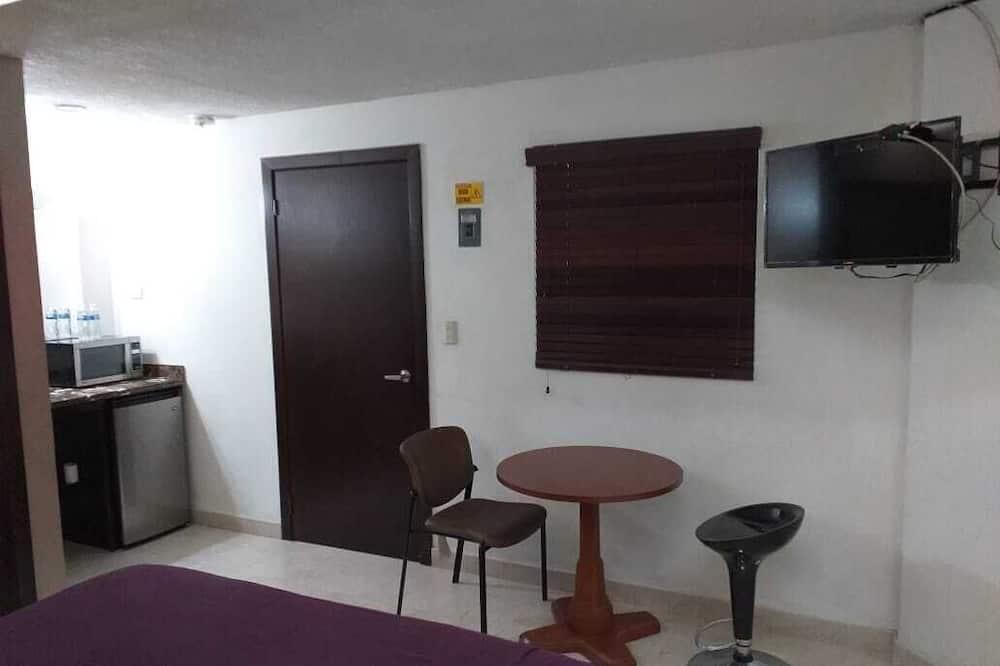 Standaard kamer, 1 queensize bed - Woonruimte