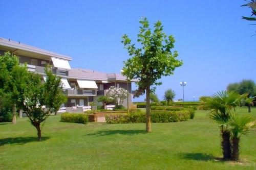 アパートメントグリーンマリン、ヤシの木、イスマーレインシルヴィマリーナ-4人、1ベッドルーム/