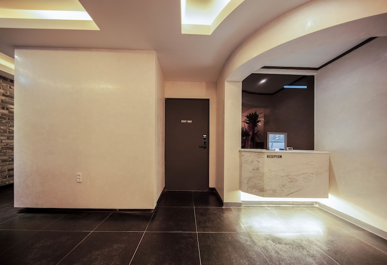 넘버25 호텔 사상모라점, 부산광역시, 리셉션
