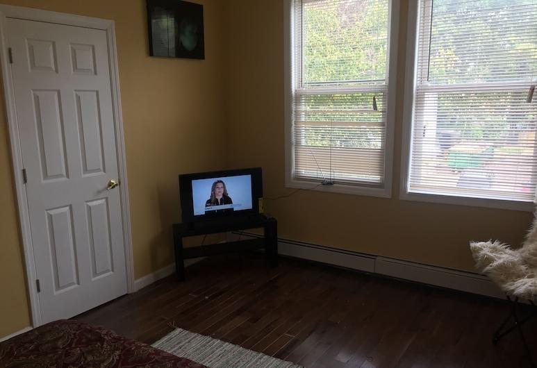 Nice 1 Bedroom Apartment, نيوارك, الغرفة