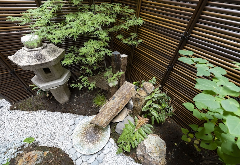 Shirakabanoyado-Ashihara, Osaka, Garden