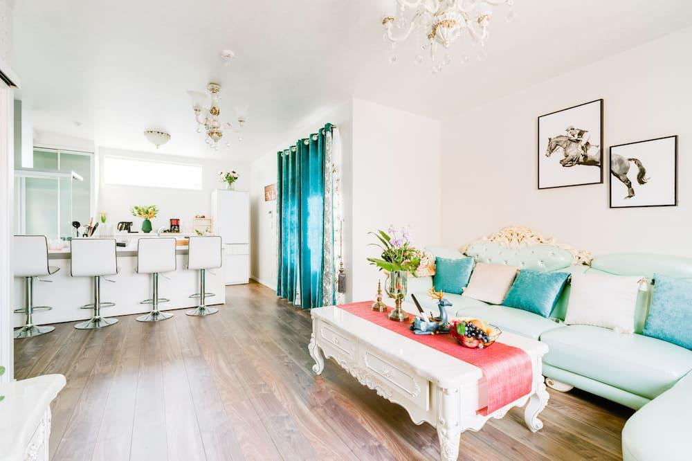 Vila typu Deluxe - Obývací prostor
