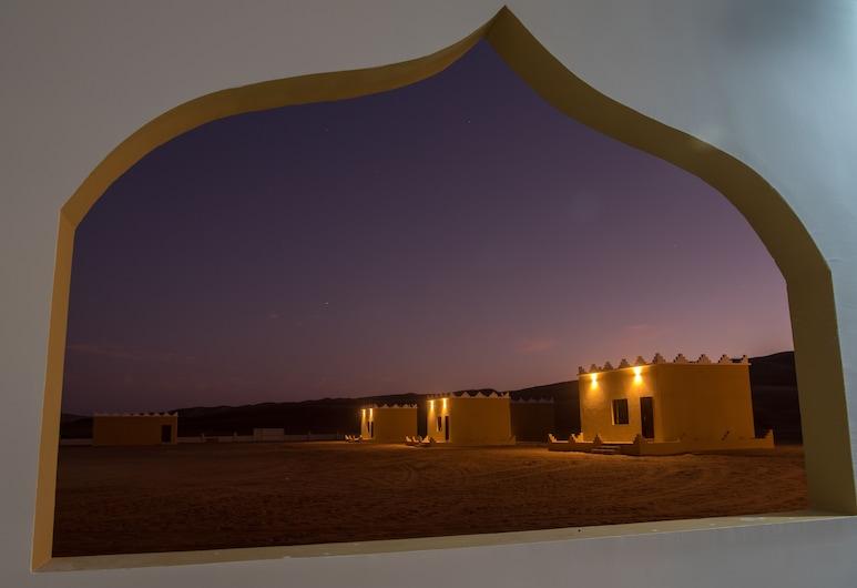 مخيم الحوية, بدية, إطلالة المنشأة