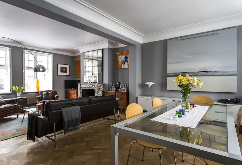 De Walden Street by Onefinestay, London, Wohnzimmer