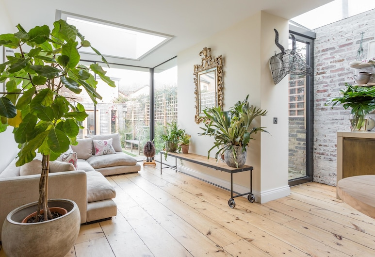 Barlby Road III by Onefinestay, London, Apartment (3 Bedrooms), Wohnbereich