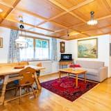 Apartament rodzinny, 3 sypialnie, widok na góry (10) - Powierzchnia mieszkalna