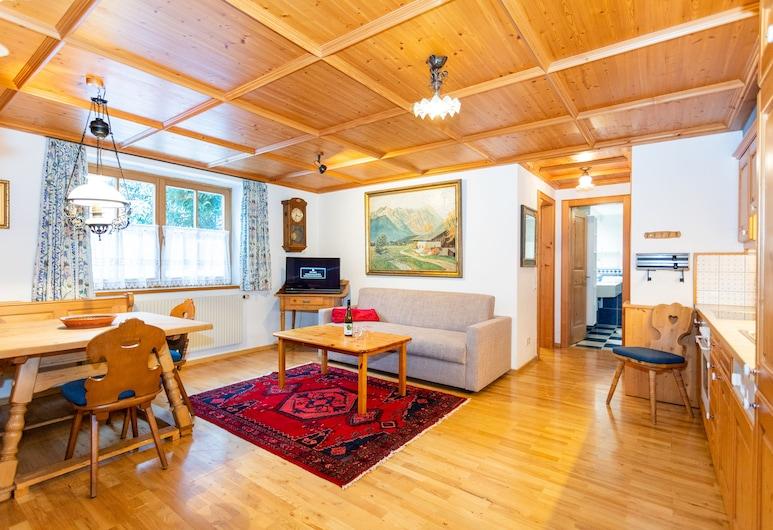 阿爾特蒙塔豐公寓飯店, 加舒恩, 家庭公寓, 3 間臥室, 山景 (10), 客廳