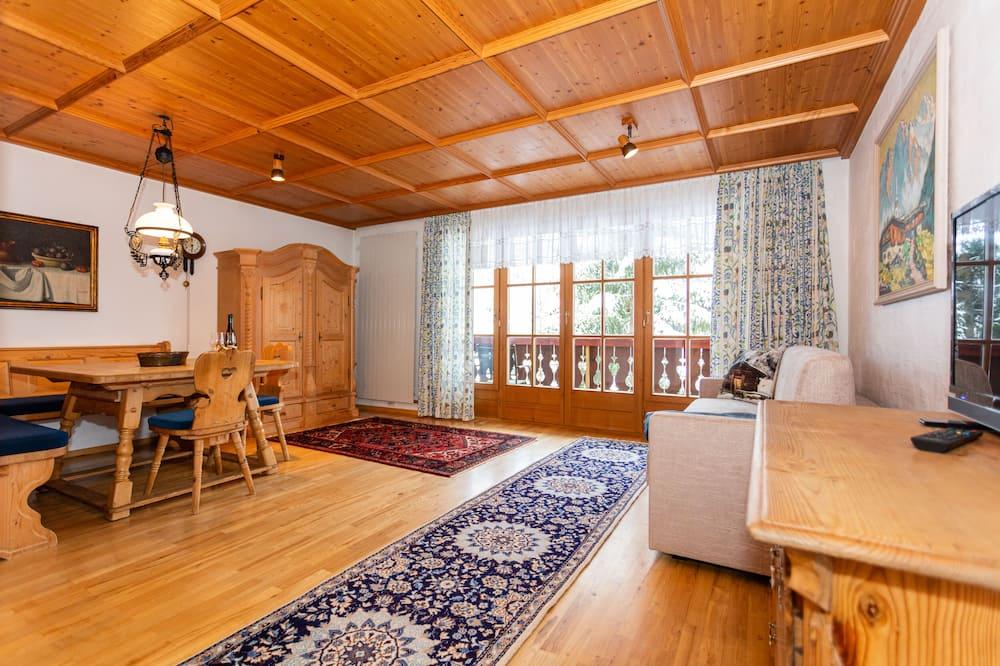 Apartament rodzinny, 1 sypialnia (6) - Powierzchnia mieszkalna