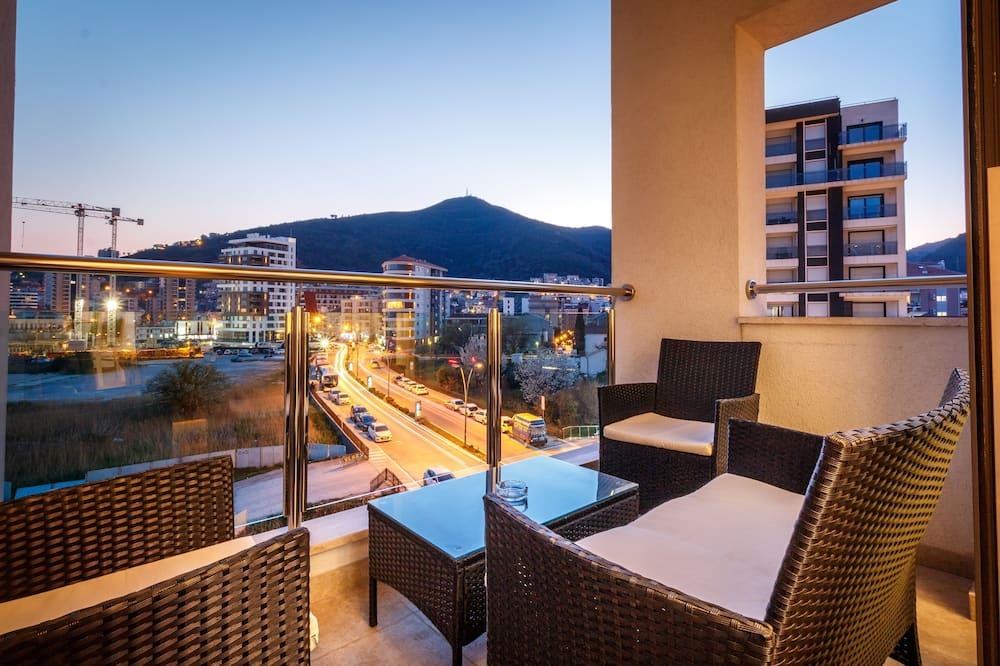Apartemen Premium, 2 kamar tidur, sauna - Balkon