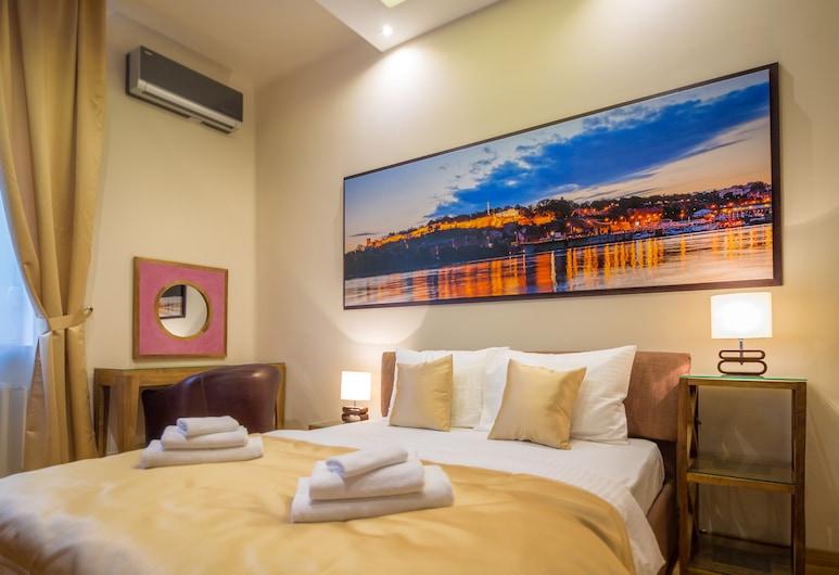 Feel Belgrade Superior Apartment, Belgrad, Apartment, 2Schlafzimmer, Terrasse, Zimmer