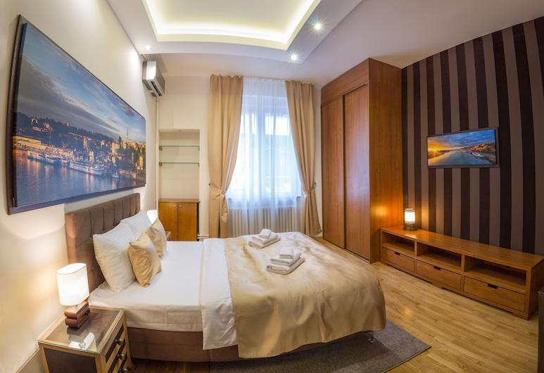فيل بيلجراد سوبيريور أبارتمنت, بيلغراد, شقة - غرفتا نوم - بشرفة, الغرفة
