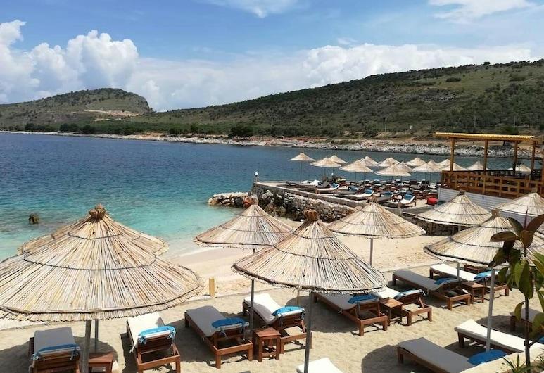 Hotel Utopia, Ksamil, Bãi biển