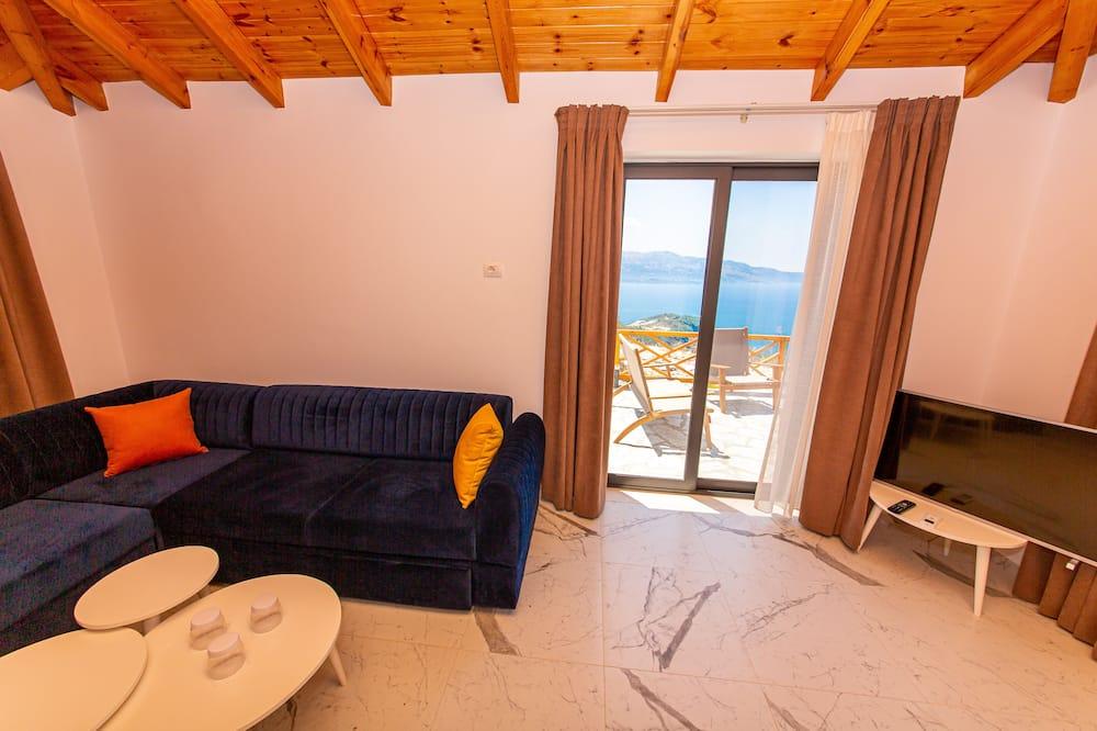 Suite, Terraço, Vista Mar - Área de Estar