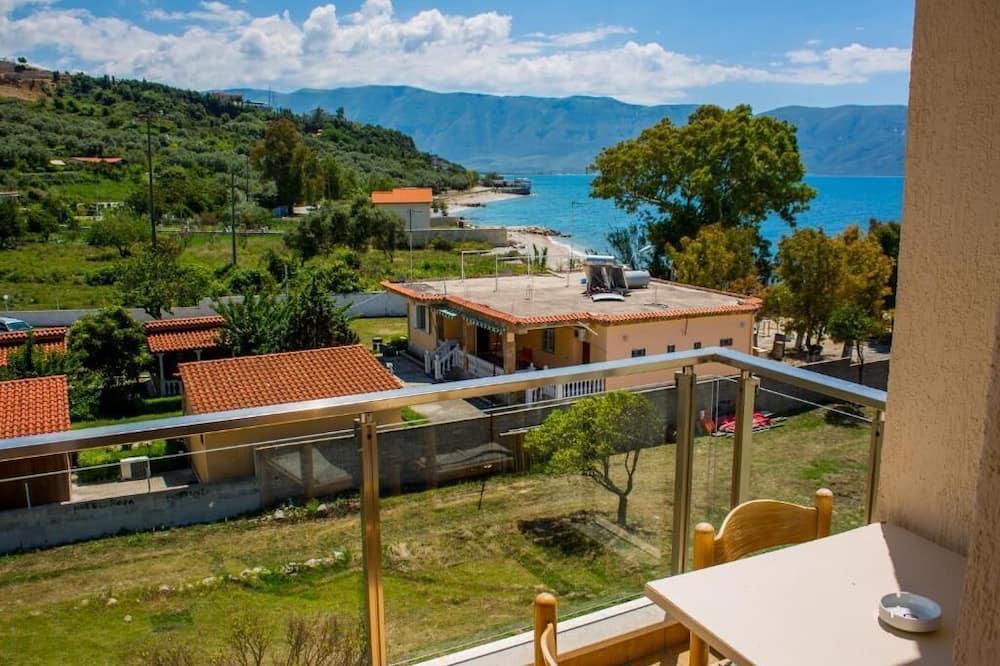 Double Room, Balcony, Partial Sea View - Balcony View