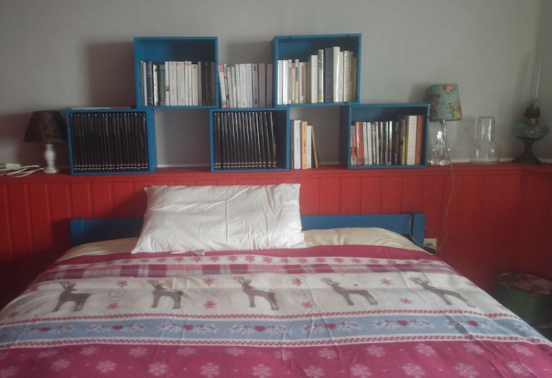 Chambre de Babouchka, Rennes, Double Room, Guest Room