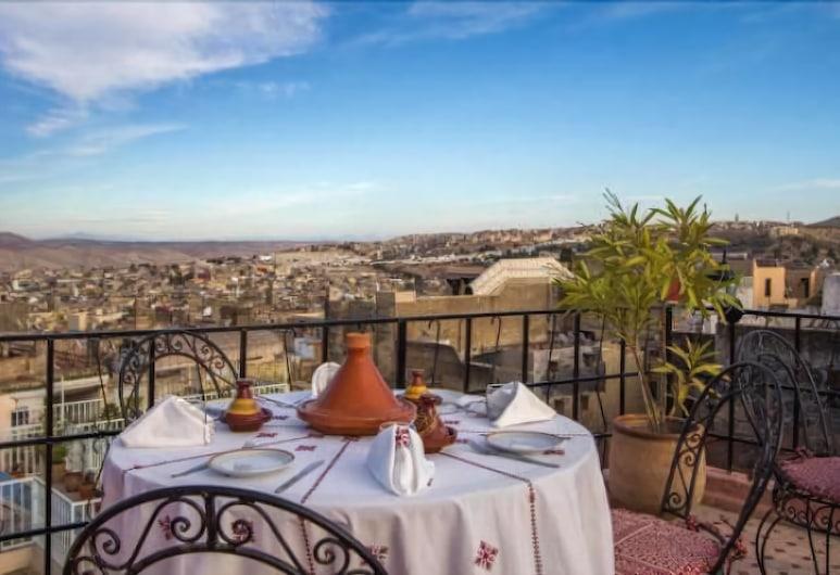 タドラ ゲスト ハウス, フェス , 朝食スペース
