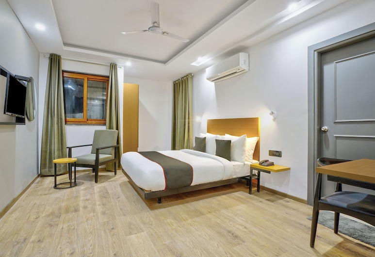 OYO Townhouse 284 New Building, Noida, Chambre Deluxe, Chambre