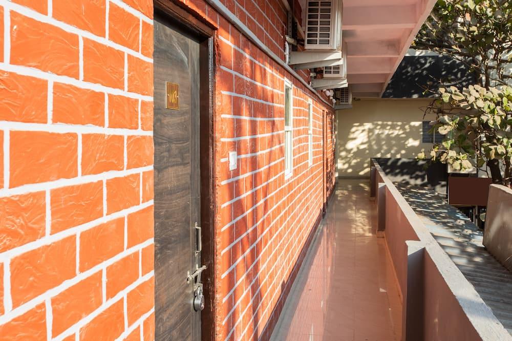 Kamer, 1 twee- of 2 eenpersoonsbedden - Balkon
