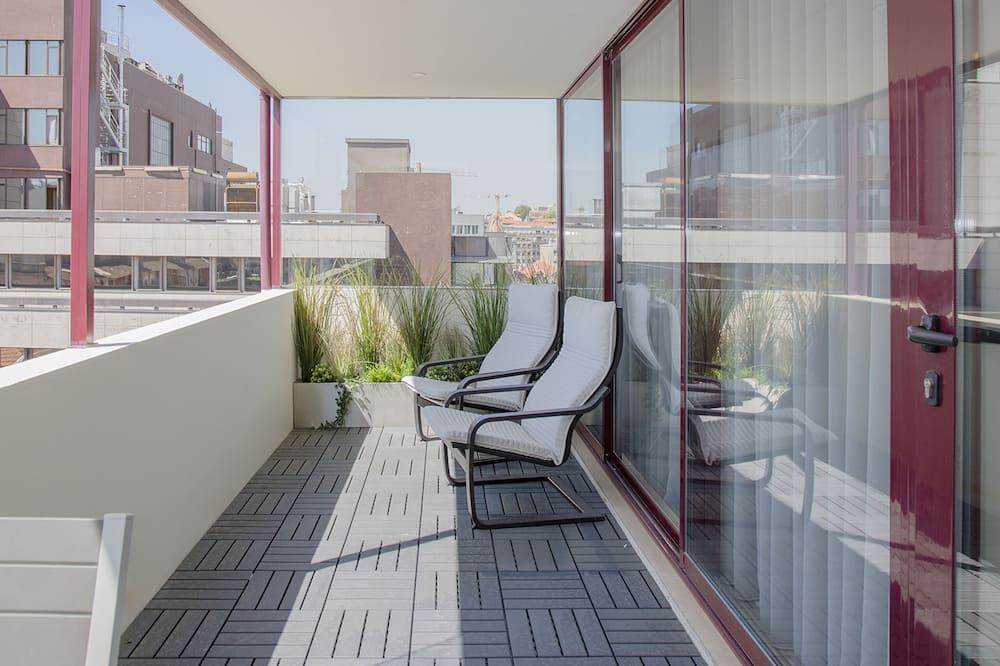 Lägenhet - 1 sovrum (Invictus Bolhão Terrace II) - Balkong