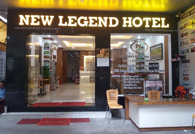 New Legend Hotel, Ho Chi Minh-Stad, Ingang van hotel