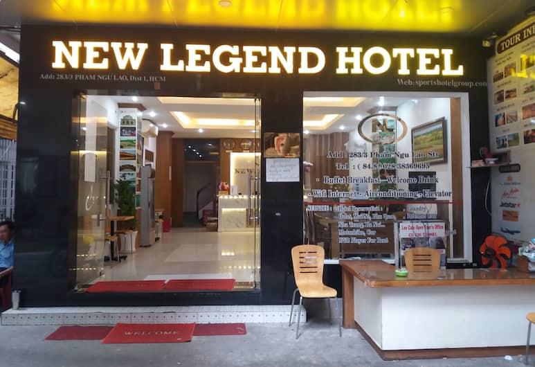 ニュー レジェンド ホテル, ホーチミン, ホテル エントランス