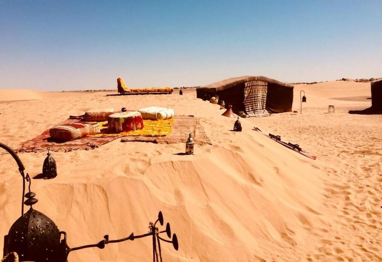 Nomade Moon - Campsite, М'Хамид-Эль-Гизлан, Территория отеля