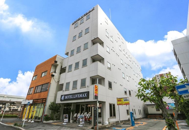 Hotel LiVEMAX Fuji-Ekimae, Fudži, Průčelí hotelu